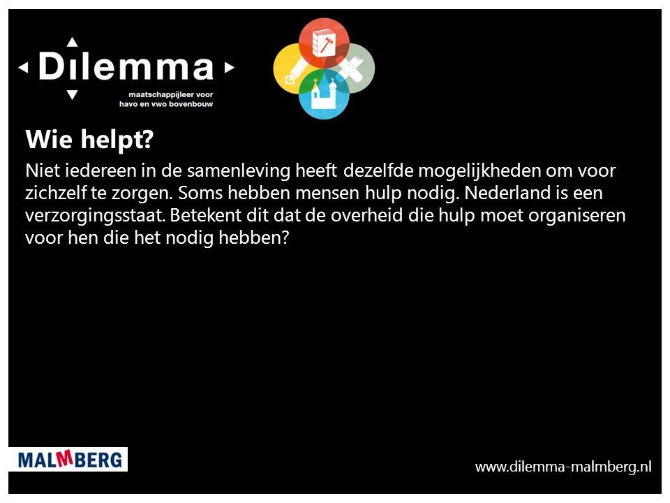 www.dilemma-malmberg.nl. Wie helpt.