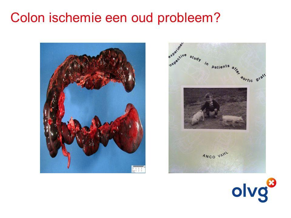 Colon ischemie een oud probleem?