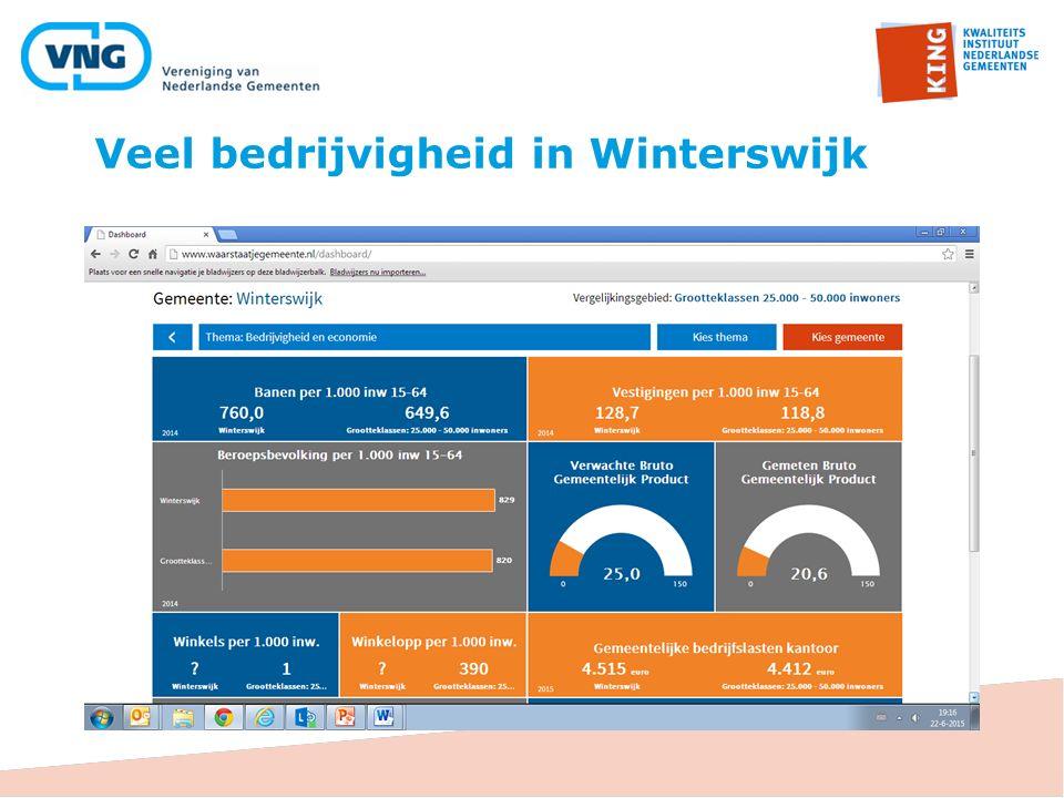 Veel bedrijvigheid in Winterswijk