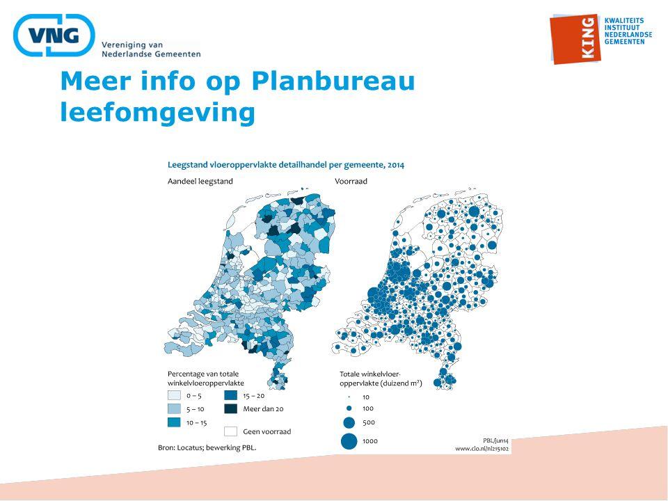 Meer info op Planbureau leefomgeving