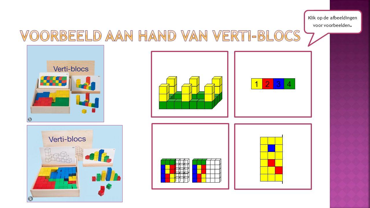 1234 Klik op de afbeeldingen voor voorbeelden.