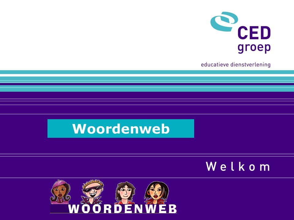 Welkom bij Woordenweb Online schooltaalwoorden leren op www.woordenweb.nl Woordenweb
