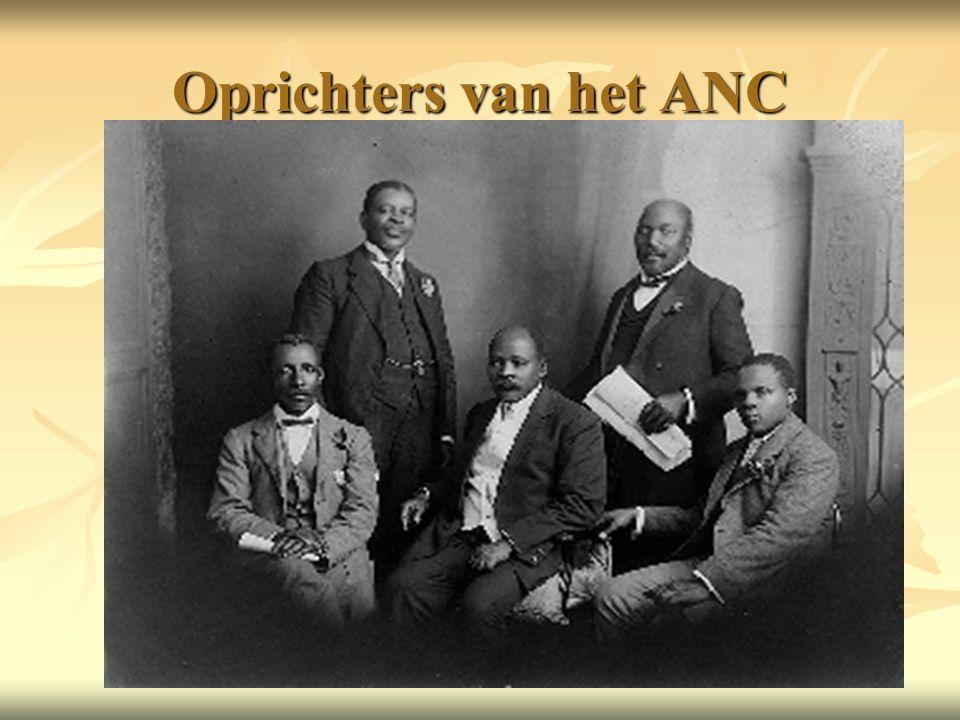 Oprichters van het ANC