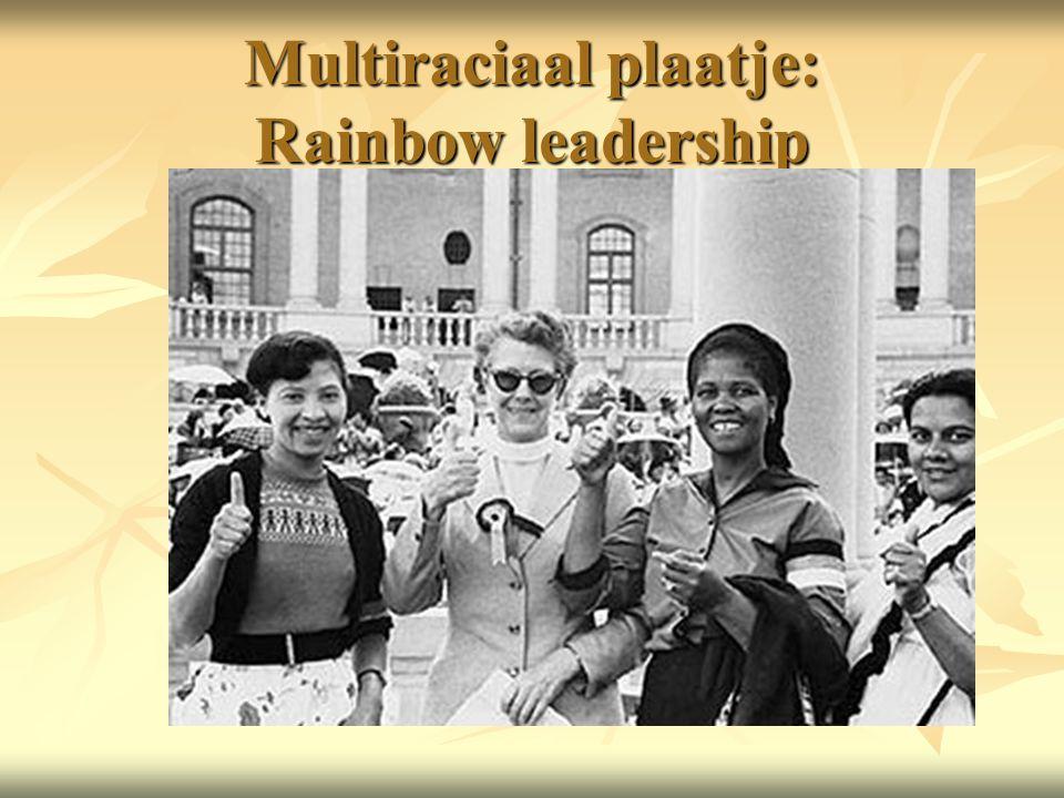 Multiraciaal plaatje: Rainbow leadership