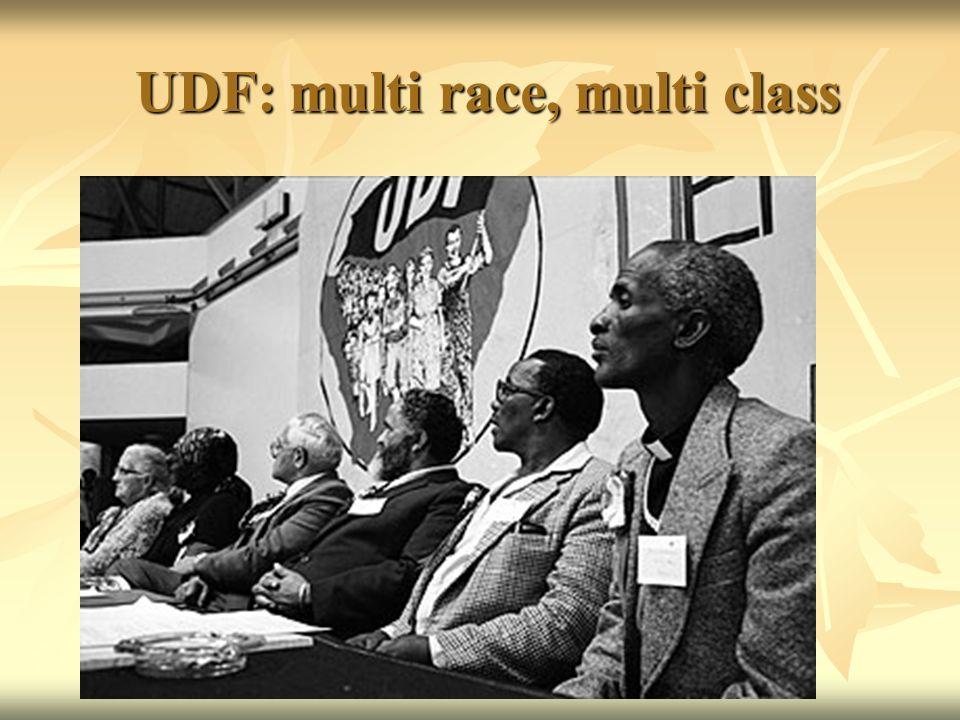 UDF: multi race, multi class UDF: multi race, multi class