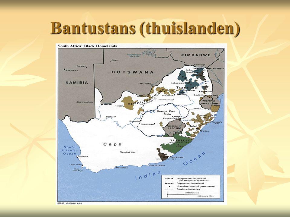 Bantustans (thuislanden)