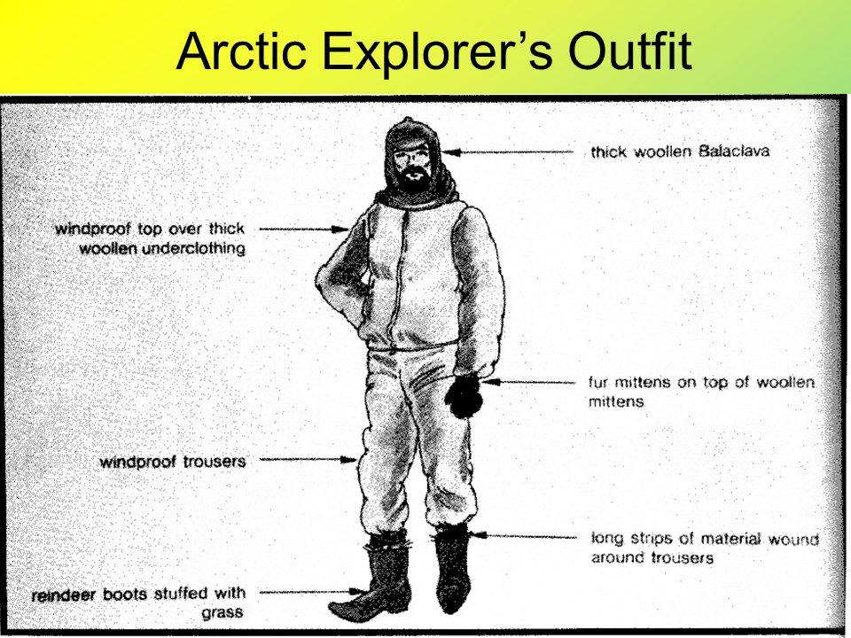 Arctic Explorer's Outfit