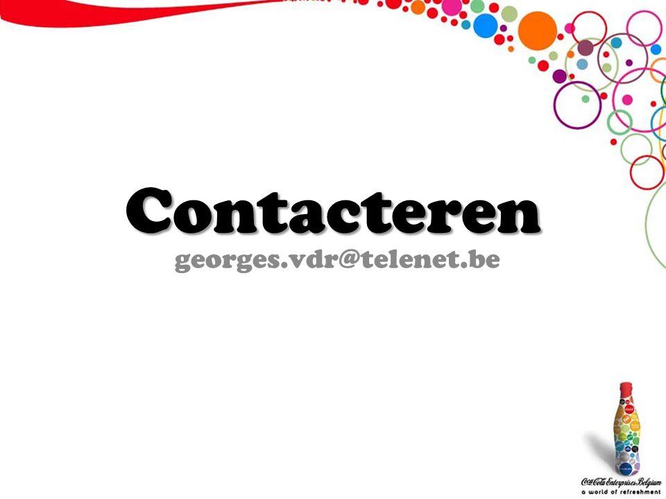 Contacteren georges.vdr@telenet.be