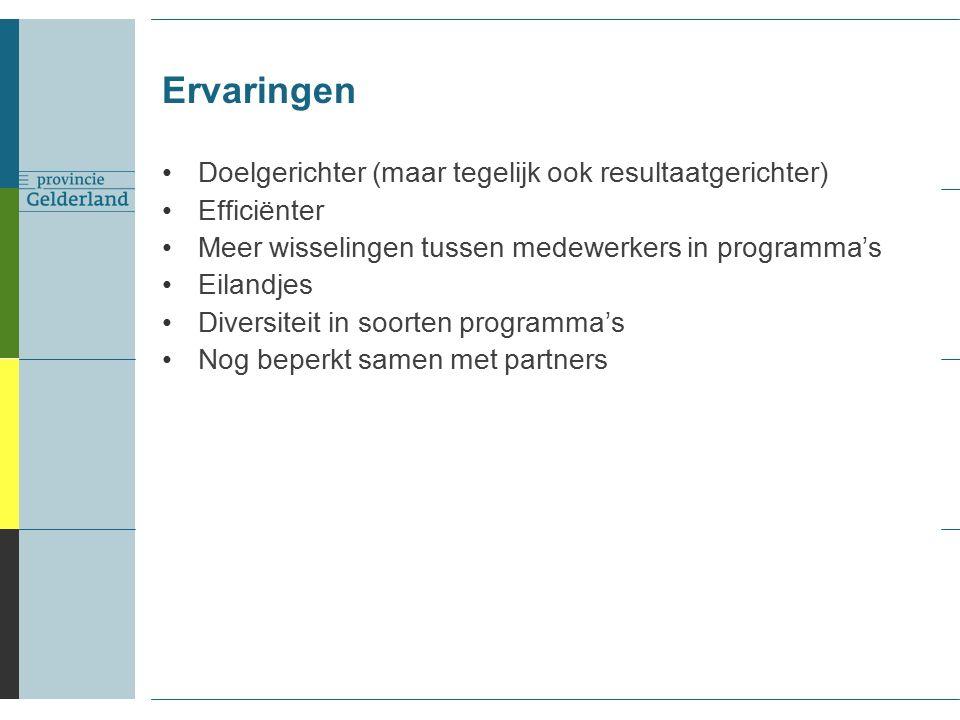 Meer met partners: samen programma's uitvoeren.