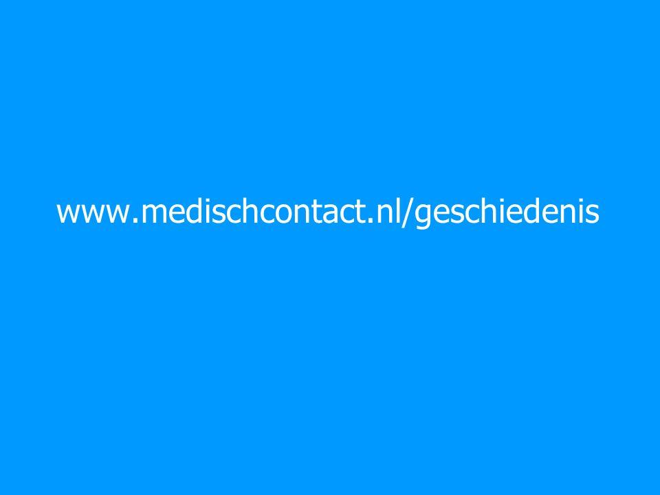 www.medischcontact.nl/geschiedenis