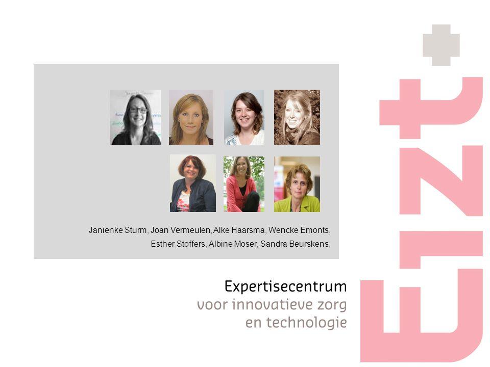 Janienke Sturm, Joan Vermeulen, Alke Haarsma, Wencke Emonts, Esther Stoffers, Albine Moser, Sandra Beurskens,