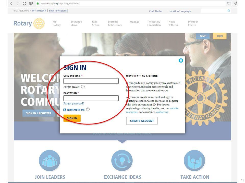 41 De Rotary.org website