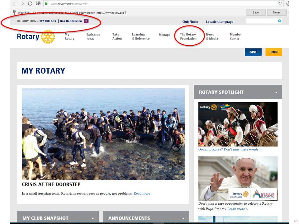 43 De Rotary.org website