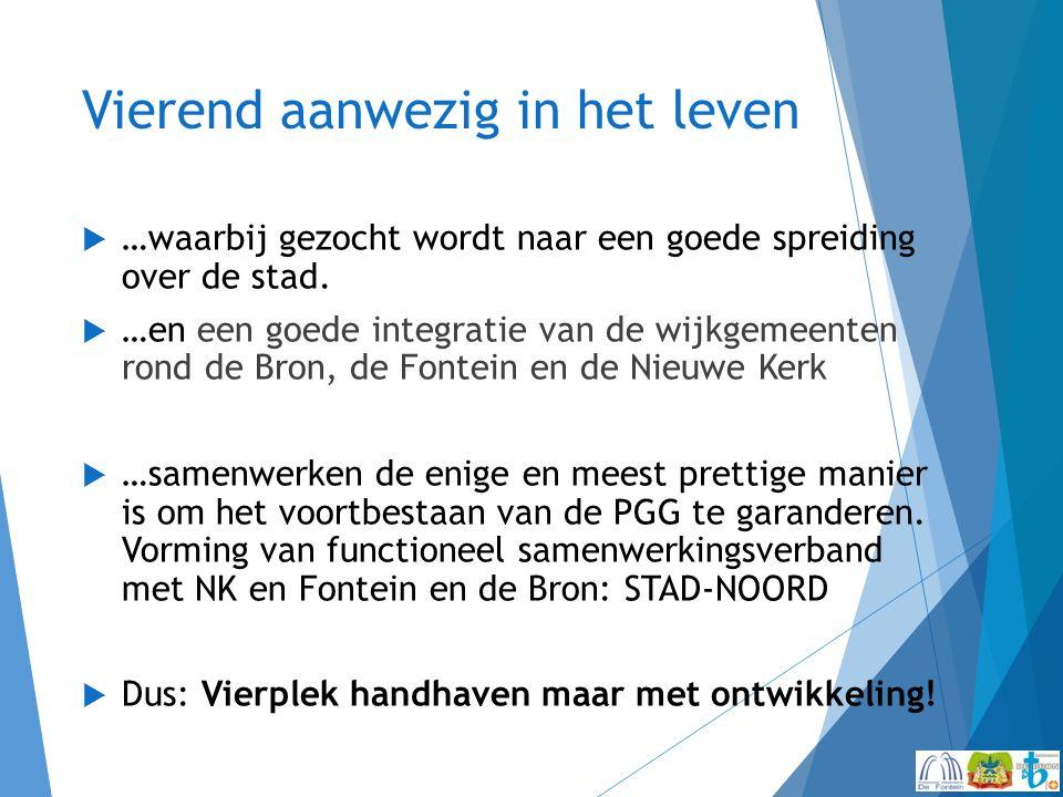 Concept beleidsplan PGG 2015-2019  Om voorbereid te zijn op de toekomst.