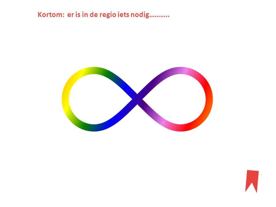 Kortom: er is in de regio iets nodig………..