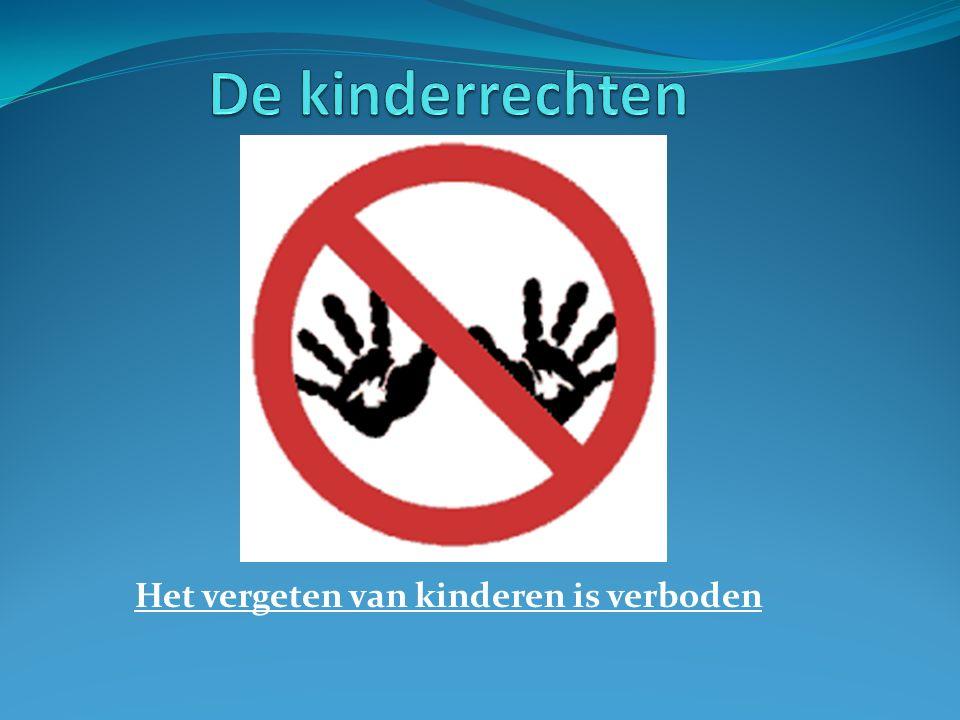 Het vergeten van kinderen is verboden