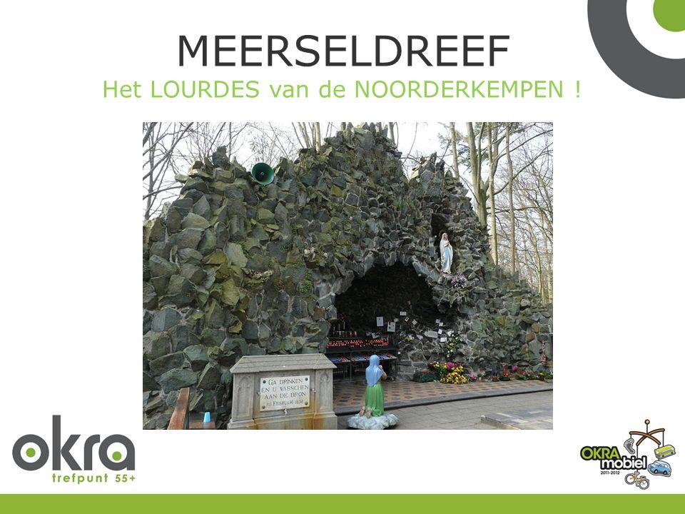 MEERSELDREEF Het LOURDES van de NOORDERKEMPEN !
