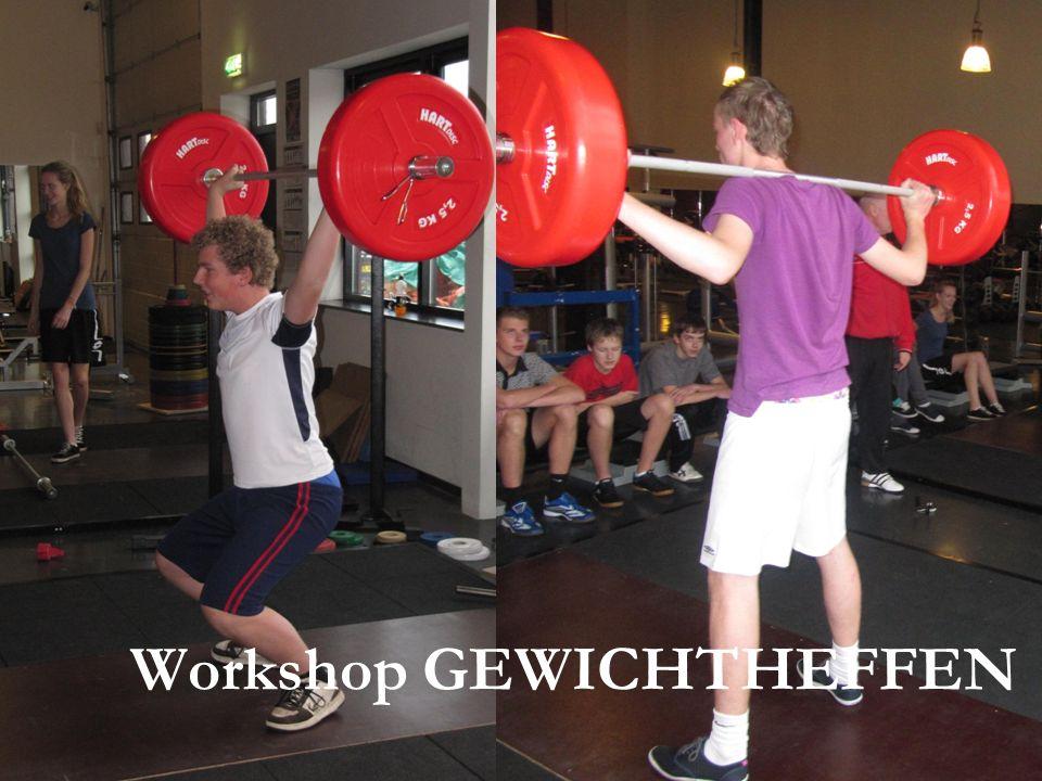 Workshop GEWICHTHEFFEN