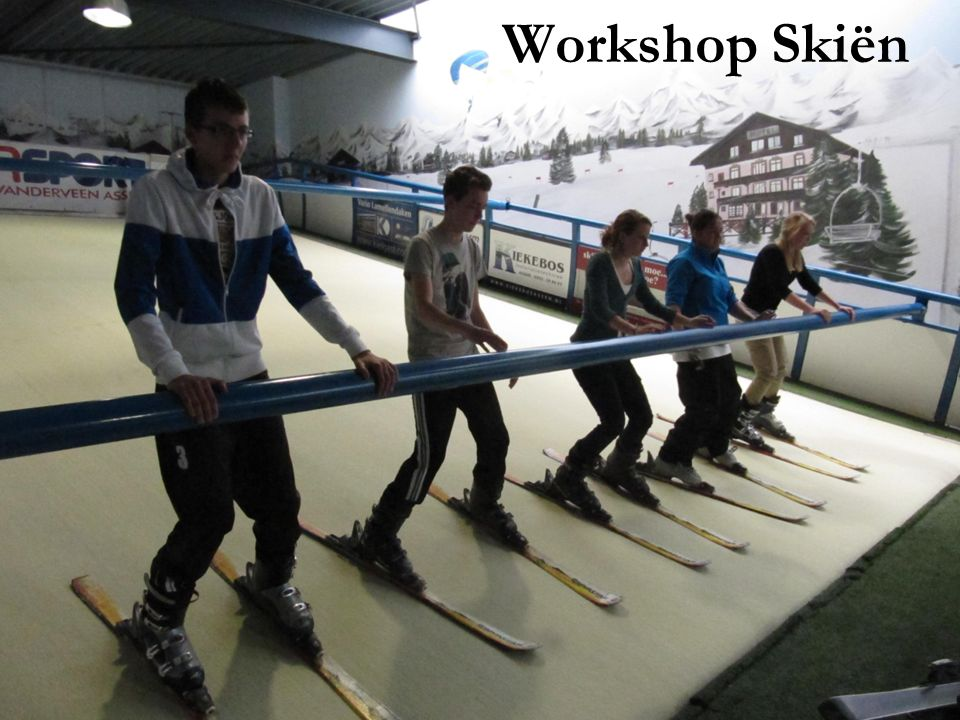 Workshop Skiën