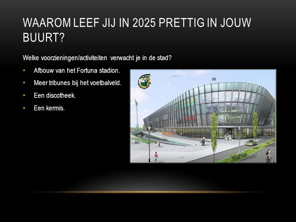 WAAROM LEEF JIJ IN 2025 PRETTIG IN JOUW BUURT.