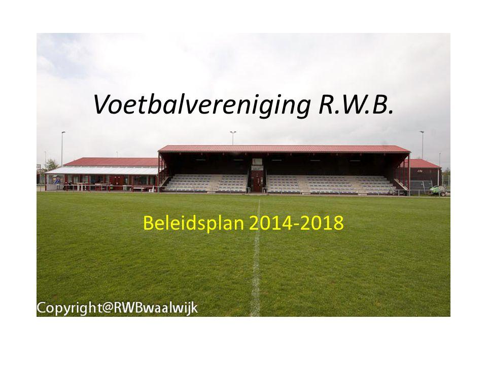 Voetbalvereniging R.W.B. Beleidsplan 2014-2018