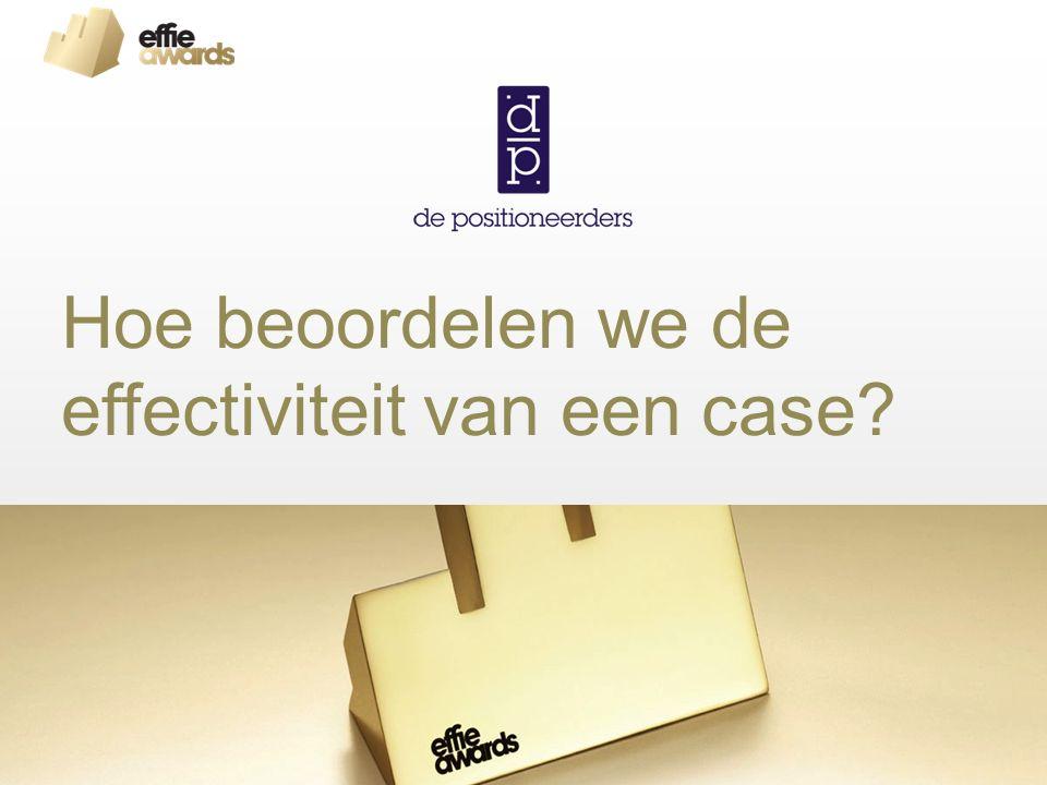 Hoe beoordelen we de effectiviteit van een case?