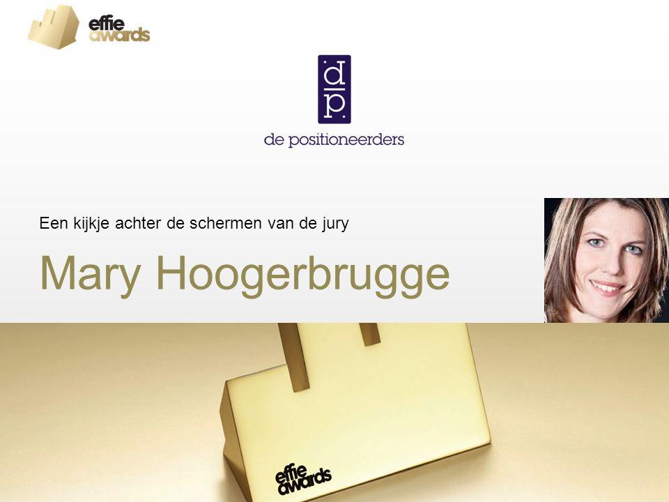 Mary Hoogerbrugge Een kijkje achter de schermen van de jury