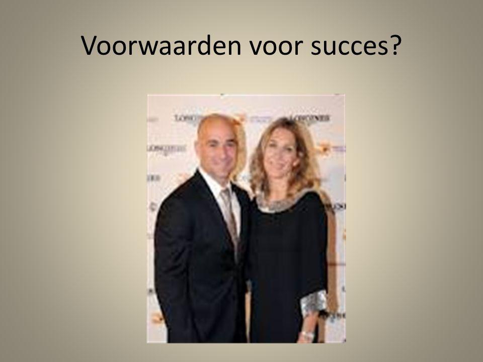 Voorwaarden voor succes?