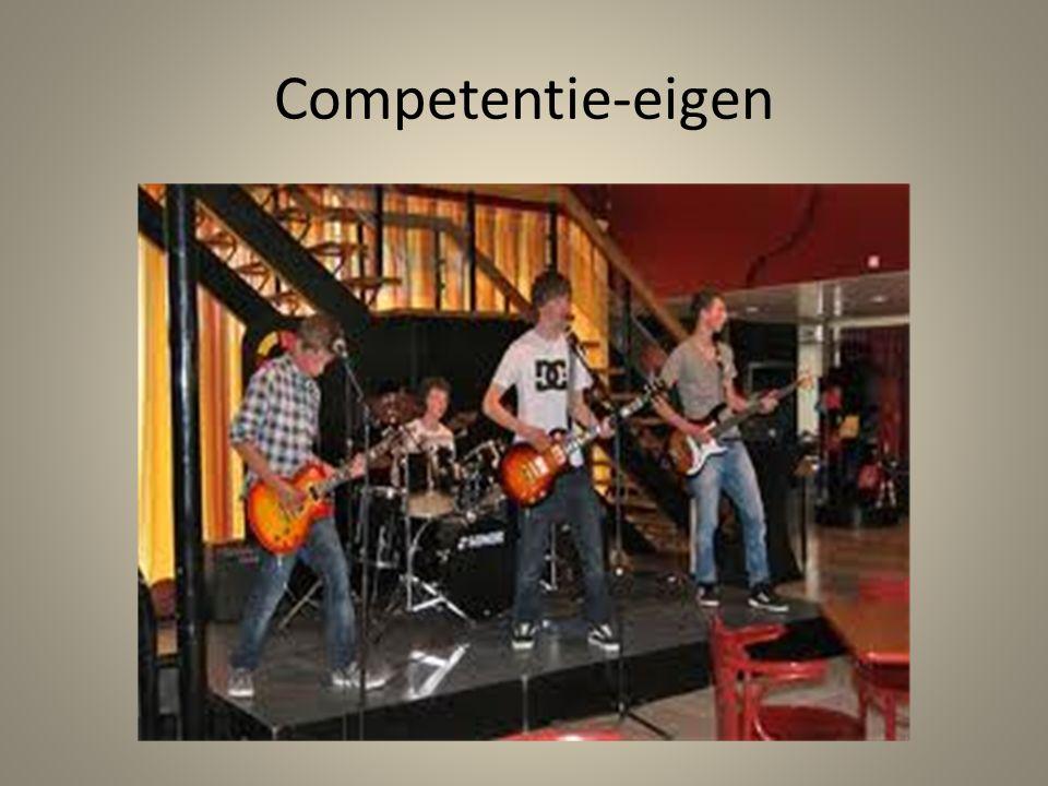 Competentie-eigen