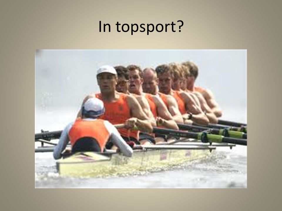 In topsport?