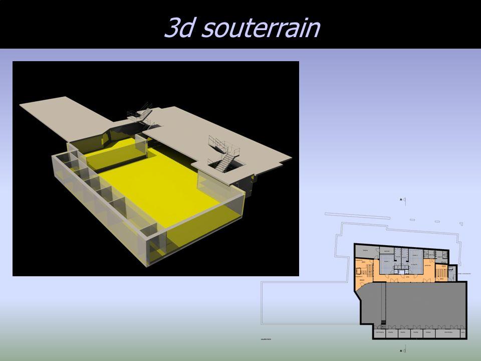 3d souterrain