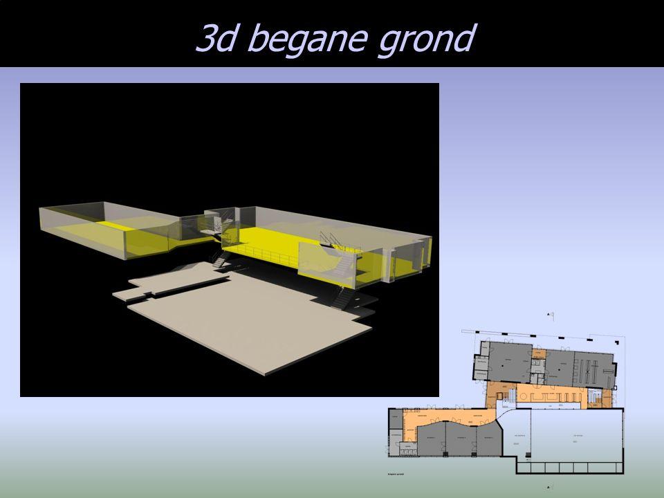 3d begane grond