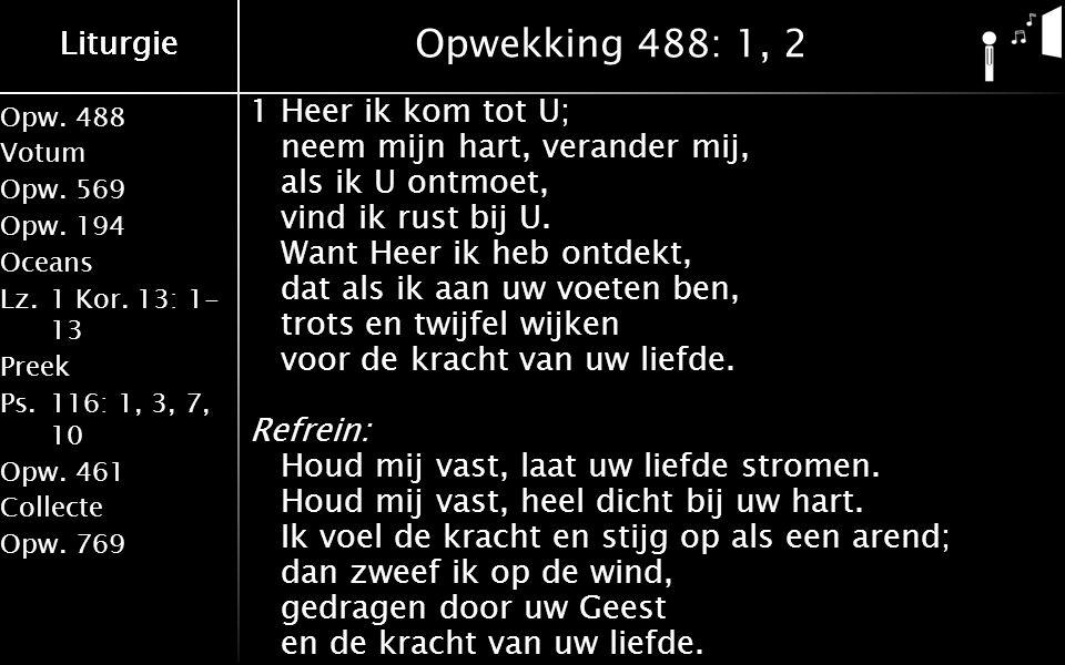 Opw.488 Votum Opw.569 Opw.194 Oceans Lz.1 Kor.
