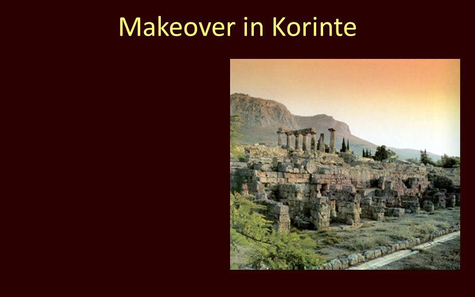 Makeover in Korinte
