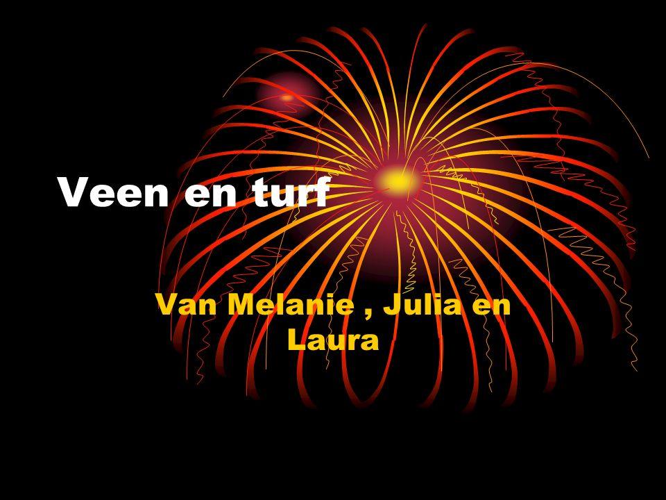 Veen en turf Van Melanie, Julia en Laura
