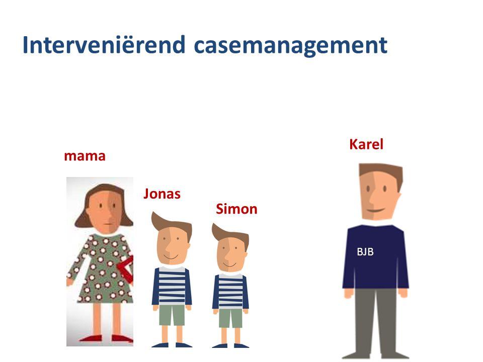 Interveniërend casemanagement mama Jonas Simon Karel BJB