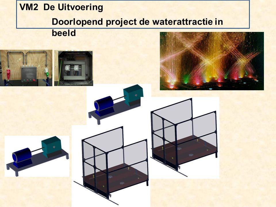Doorlopend project de waterattractie in beeld VM2 De Uitvoering