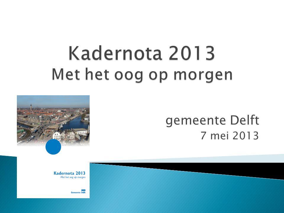 gemeente Delft 7 mei 2013