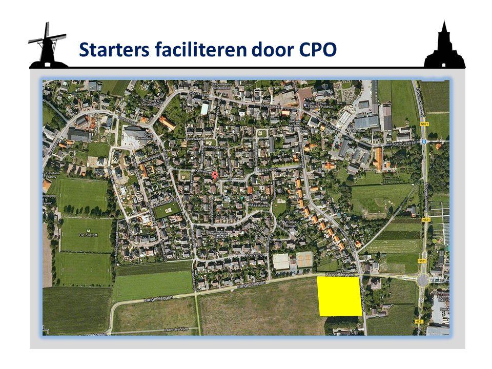 Starters faciliteren door CPO