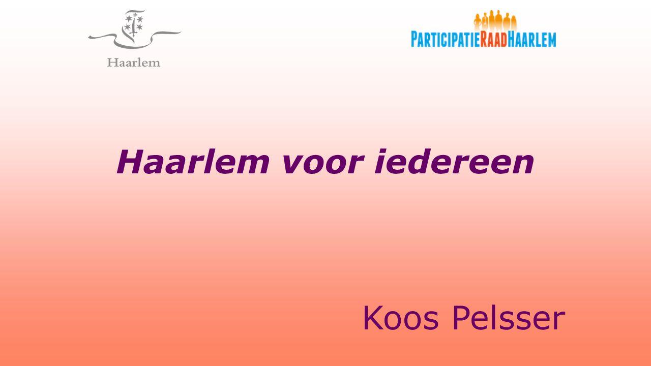 Haarlem voor iedereen Koos Pelsser