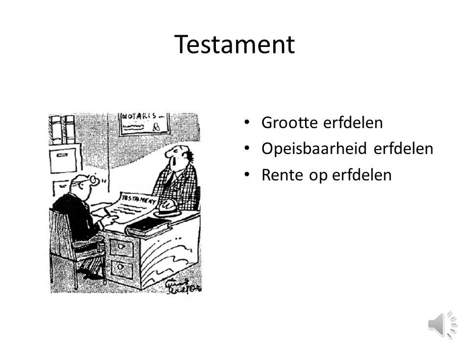 Uw mogelijkheden Testament maken Testament aanpassen Schenken Levenstestament