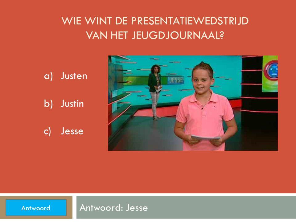 IN WELKE STAD KWAM JUSTIN BIEBER OPTREDEN? Antwoord: Arnhem a)Arnhem b)Amsterdam c)Rotterdam Antwoord