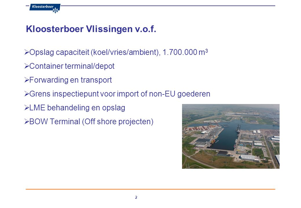2 Kloosterboer Vlissingen v.o.f.