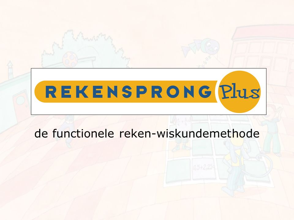 de functionele reken-wiskundemethode