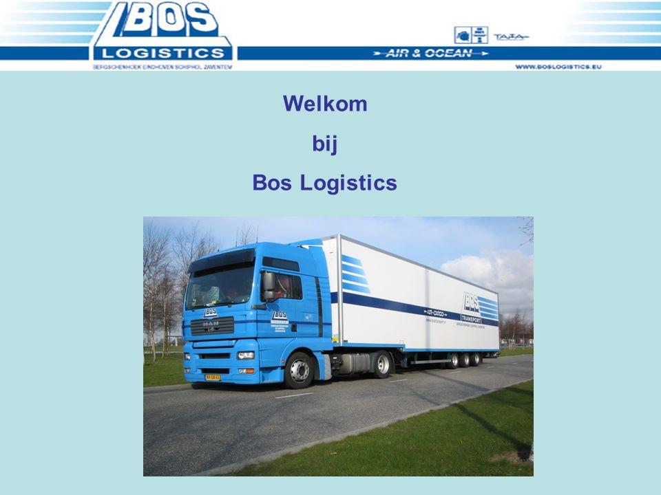 Welkom bij Bos Logistics
