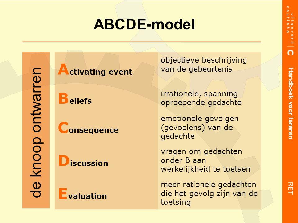 ABCDE-model Handboek voor leraren RET de knoop ontwarren