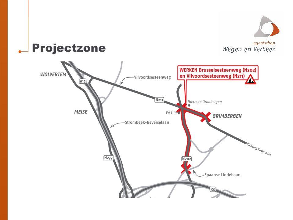 Gefaseerde aanpak Brusselsesteenweg en Wolvertemsesteenweg zullen beiden afgesloten worden, maar… nooit gelijktijdig bestemmingsverkeer blijft toegelaten handelszaken en diensten blijven maximaal bereikbaar