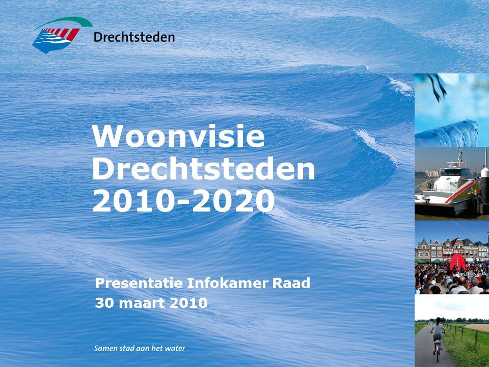 Woonvisie Drechtsteden 2010-2020 Presentatie Infokamer Raad 30 maart 2010