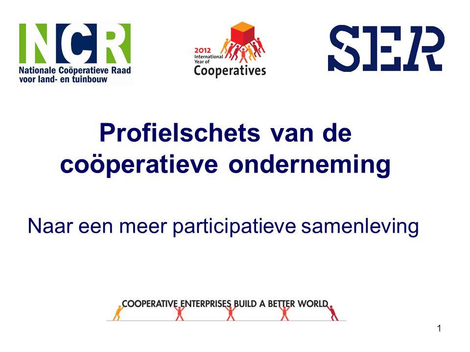 1 Profielschets van de coöperatieve onderneming Naar een meer participatieve samenleving