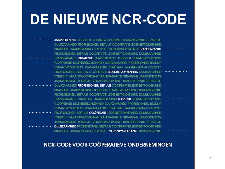 7 DE NIEUWE NCR-CODE